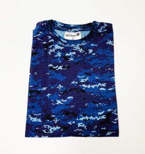 デジタル迷彩Tシャツ