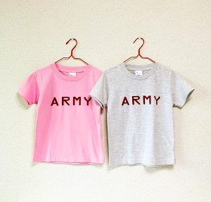 KIDS ARMY Tシャツ